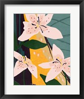 Lily Collage I Framed Print