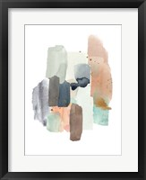 Glacier's Edge I Framed Print