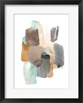 Glacier's Edge II Framed Print