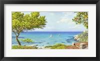 Framed Sul Mare