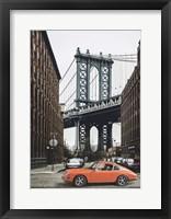 Framed By the Manhattan Bridge