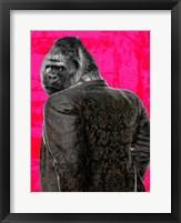 Framed Ape in a Suit (Pop Version)