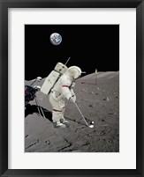 Framed Lunar Golf (NASA)