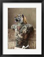 Traditional Tattoo II Framed Print