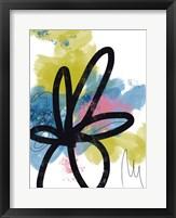 Pop Flower No. 1 Framed Print