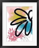 Pop Flower No. 2 Framed Print
