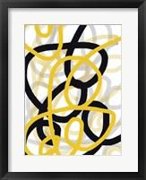Scribble No. 1 Framed Print