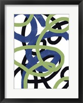 Scribble No. 2 Framed Print