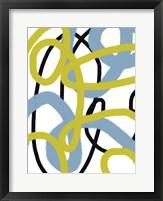 Scribble No. 3 Framed Print