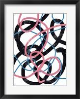 Scribble No. 4 Framed Print