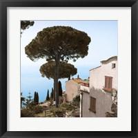Framed Amalfi Coastal Villas