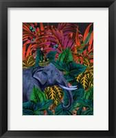 Framed Tropical Jungle