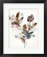 Playing Flower 1 Framed Print