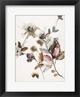 Playing Flower 2 Framed Print