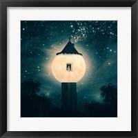 Framed Moon Tower