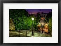Framed Montmartre Steps