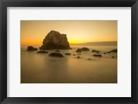 Framed Mendocino Coast Meditation