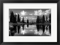 Framed Paradise Reflection