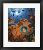 Framed Dandelion Dreams