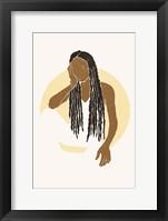 Boho Sun I Framed Print