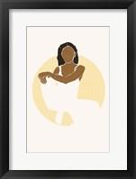 Boho Sun III Framed Print