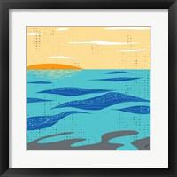Framed Calm Surf