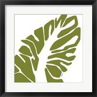 Framed Tribal Palm