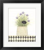 Chives Unity Framed Print