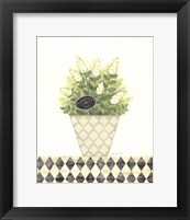 Peppermint Joy Framed Print