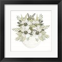 Fun Floral I Framed Print