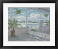 Framed Coastal Porch I