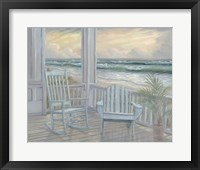 Framed Coastal Porch II