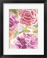 Warm Violet 1 Framed Print