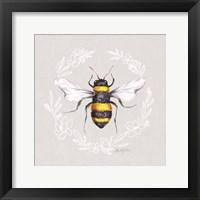 Honey Bee I Framed Print