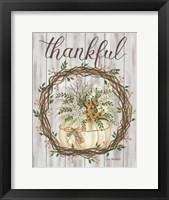 Thankful Framed Print