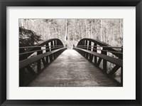 Framed Wiconisco Creek Bridge