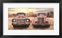 Framed I Like Big Trucks