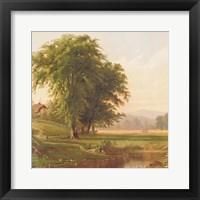 Country Pond 1 Framed Print
