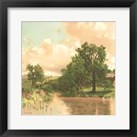 Country Pond 2 Framed Print