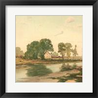 Country Pond 3 Framed Print