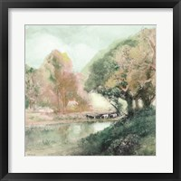 Peaceful Country 1 Framed Print