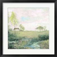 Peaceful Country 2 Framed Print