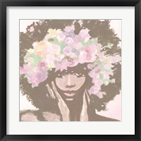 Floral Crown 1 Framed Print