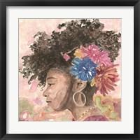 Floral Crown 2 Framed Print