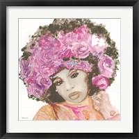 Floral Crown 3 Framed Print
