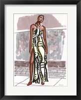 Fashion in the City 1 Framed Print