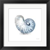 Blue Escape Coastal 05 Framed Print