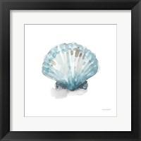 Blue Escape Coastal 06 Framed Print