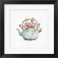 Garden Tea 03 Framed Print
