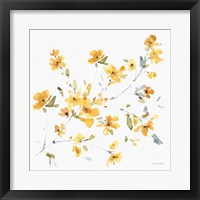 Happy Yellow 04A Framed Print